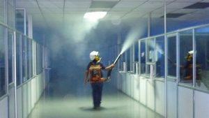 fumigacion de oficina 300x169 - Dedetizadora de Barata em Aldeia da Serra